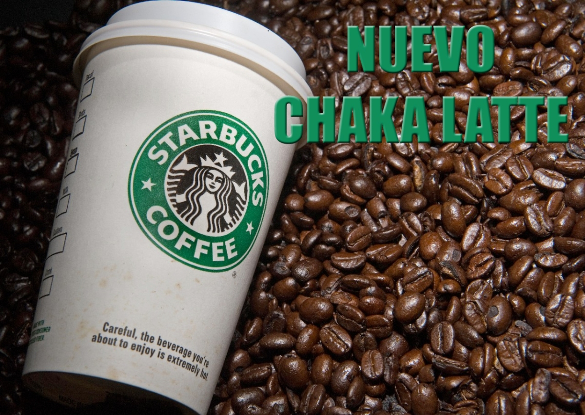 """Starbucks lanza nuevo café sabor """"Chaka Latte"""" para fanáticos del Komander"""